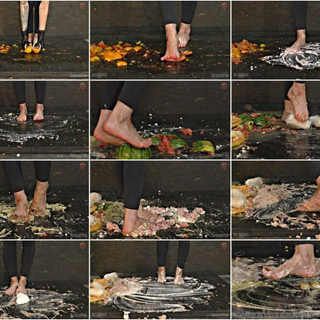 Foot Slave Graphic Food Crushing with Abigail Dupree | Full HD 1080p | Release Year:  2019