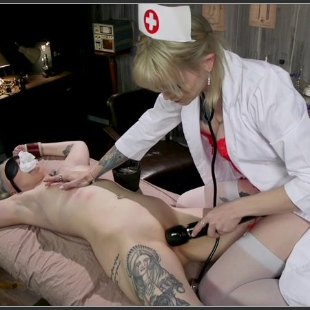 Hospital Policy: Nurse Lena Gives Arielle a Naughty Check Up | HD 720p