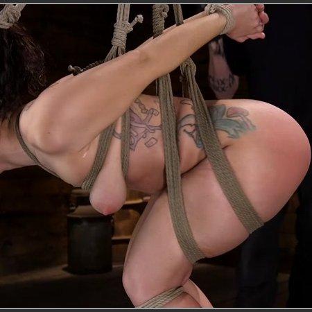 Curvy Slut Gabriella Paltrova in Grueling Rope Bondage and Tormented | HD 720p