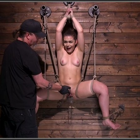 Big Booty, Blue Eyed Babe Kimber Woods in Brutal Bondage | HD 720p