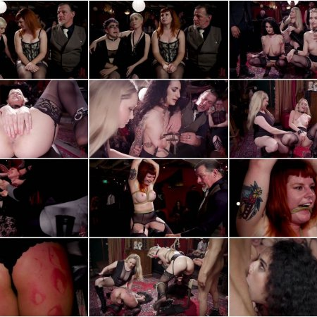 Teen Anal Slut Turned Out For Service at BDSM Swinger Soiree | HD 720p