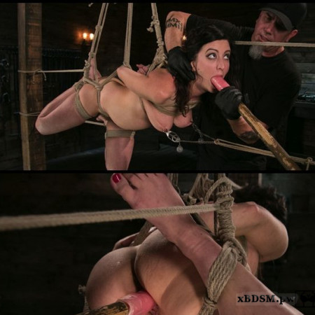 Bound Slave Cherry Torn Tormented in Rope Bondage and Multiple Orgasms | HD 720P | Release Year: December 7, 2017