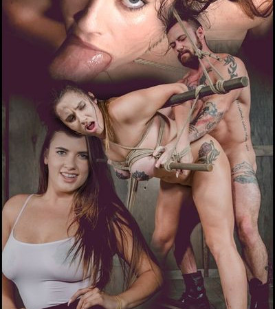 Greedy cock slut Scarlet De Sade is rough fucked with her incredible tits bound LIVE | HD 720P | Release Year: November 6, 2017
