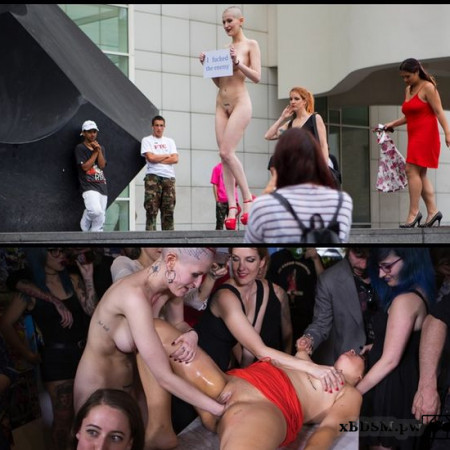 Petitie Slut Nerea Falco Shaves Head and Gets Gang Fucked in Public | HD 720P | Release Year: October 17, 2017