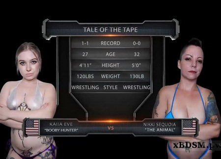 EvolvedFightsLesbianEdition - Nikki Sequoia vs Kaiia Eve