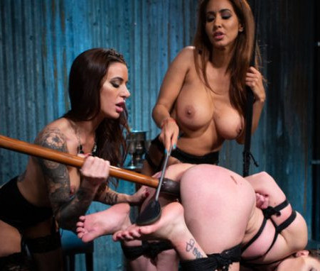 WhippedAss - Gia DiMarco, Isis Love, Alex More