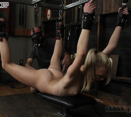 Dungeon Corp - Blonde and Submissive - Lily Rader