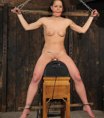 StrictRestraint - Whipped on the Sybian - Sadie Dawson