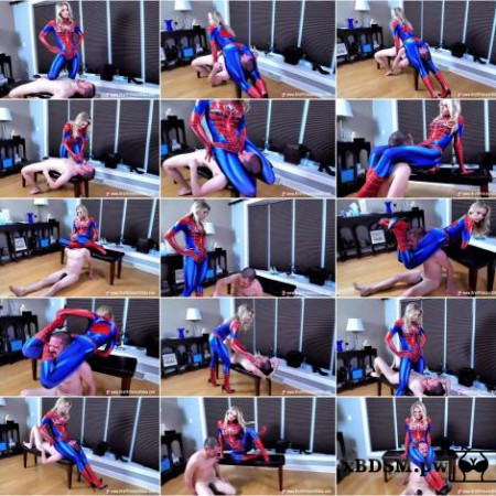 Spidey Amber - Leg Scissors Innocent Citizen For Training [UltraHD/4K 2160P]