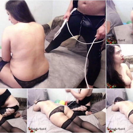NataliaRickX - Man hard spanking bbw brunette and facefuck [FullHD 1080p]