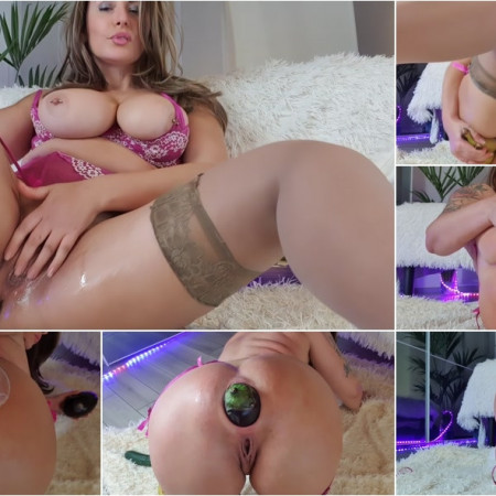 Naughtyelle - more streched... mmmm i love it [FullHD 1080P]