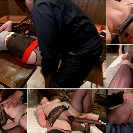 Miley May - The Dark Corner Saloon: Miley May Taken, Tied Up, and Tormented [HD 720p]