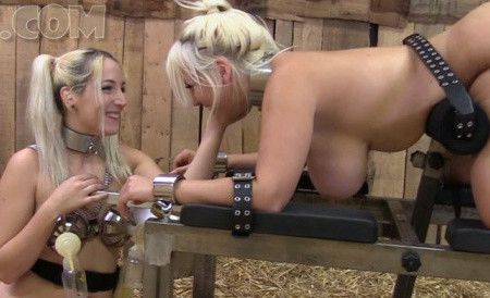 Liz milks Blondie NEW!!! [FullHD 1080P]