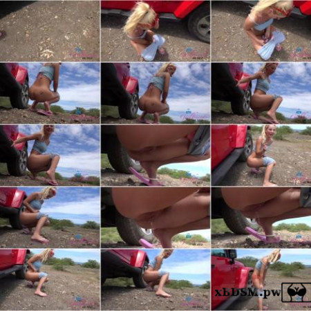 Bella Rose - Big Island pissing [FullHD 1080P]