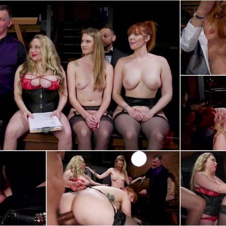 Aiden Starr, Maestro Stefanos, Donny Sins, Ashley Lane, Lauren Phillips - Babe BDSM Swinger Becomes Sexual Submissive For The House [SD 540p]