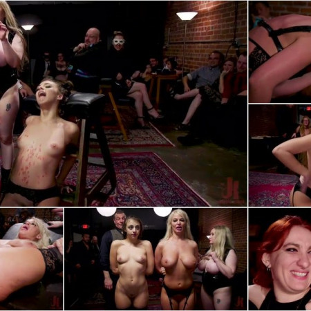 Aiden Starr, Maestro Stefanos, London River, Gia Derza, Donny Sins - Big - Titted Anal Slave Rewarded & Fisted For Training Teen Submissive [SD 540p]