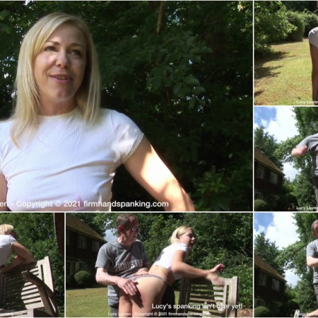 Lucy Lauren - Spanked In Uniform - V [HD 720p]
