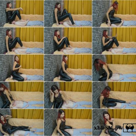 Fullweight Face Sitting In Leather Leggings [FullHD 1080P]
