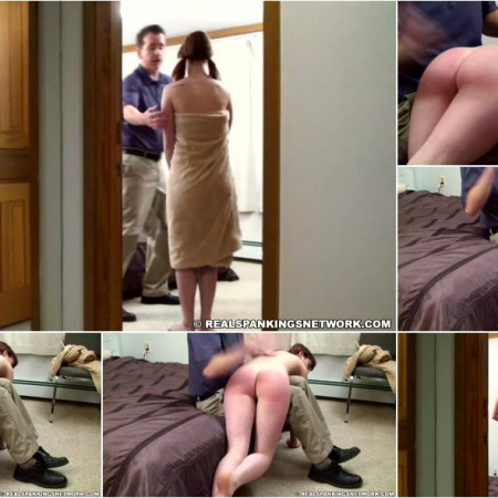 Autumn - Pulled from Bathroom and Spanked Nude [FullHD 1080p]
